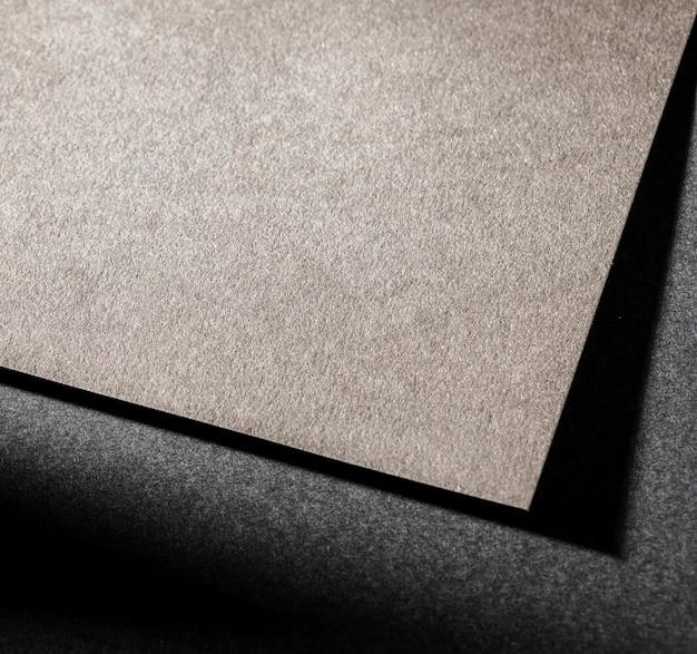 Hoher winkel des abstrakten strukturierten papiers