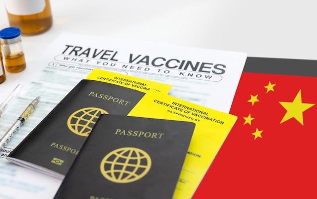 Holen sie sich vor reiseantritt ein internationales impfzertifikat