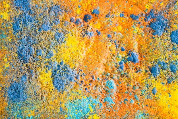 Holi pulverisiert abstrakte zeichnung