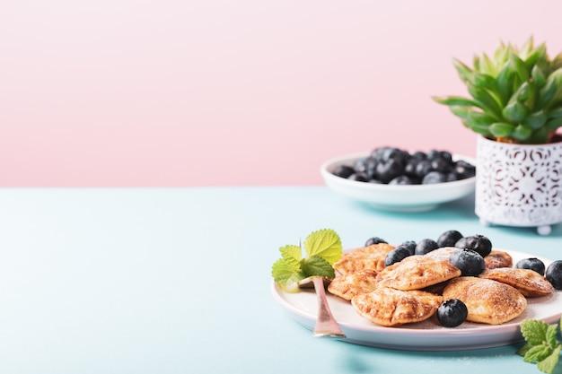 Holländische mini-pfannkuchen