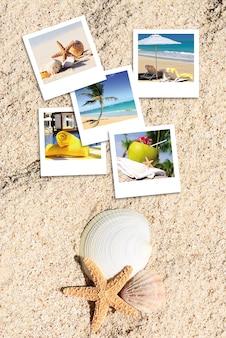 Hollidays spirit karten und sand