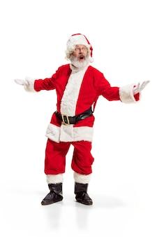 Holly lustige weihnachten festlichen weihnachtsmann