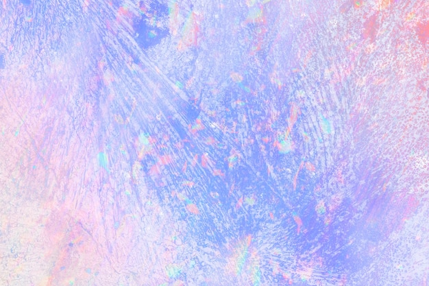 Holographischer farbverlauf des kunststoffbeschaffenheitshintergrundes