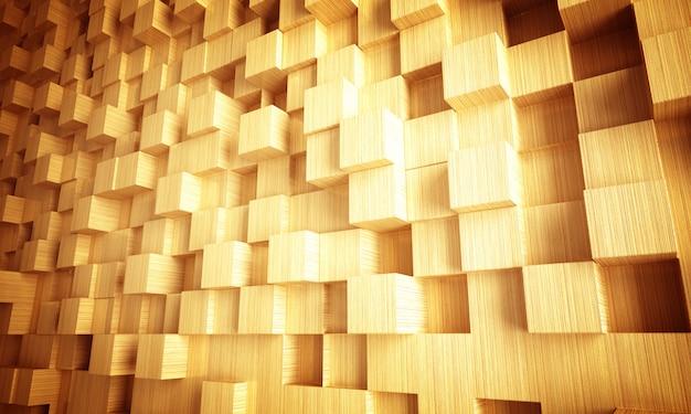 Holz geometrischen hintergrund