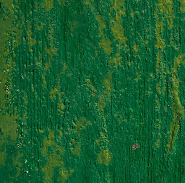 Holz grün lackiert oberfläche