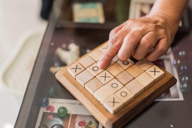 Holz sudoku board und fliesen