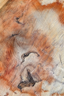 Holz textur in orangetönen