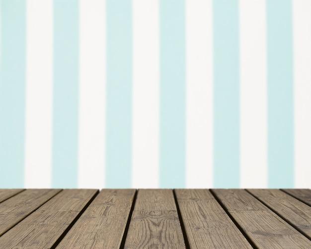 Holz textur mit blick auf vertikal gestreiften hintergrund
