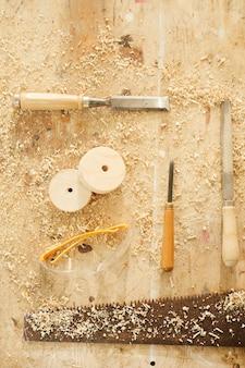 Holzarbeiten hintergrund