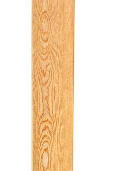 Holzbrett isoliert auf weißem hintergrund. foto in hoher qualität