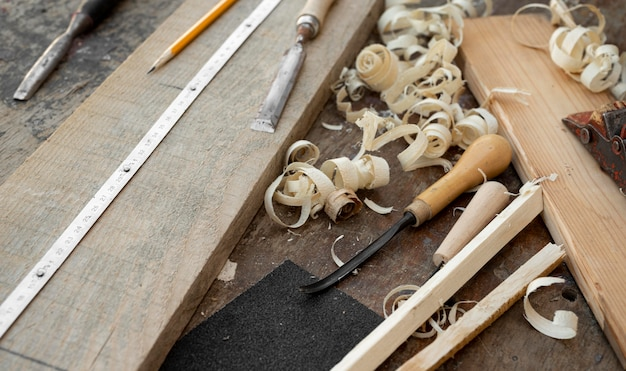 Holzhandwerksgegenstände sortiment