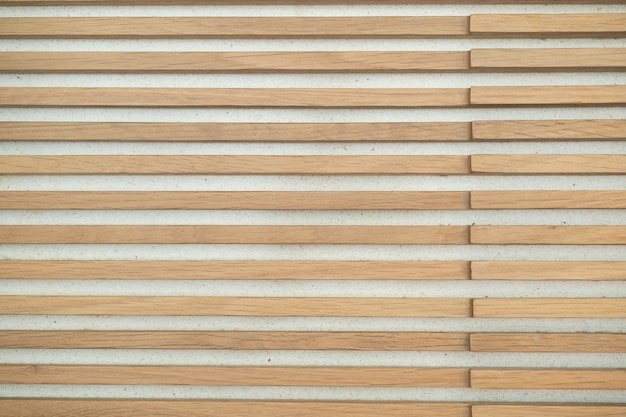 Holzlatten wandmuster textur. innenarchitektur dekoration hintergrund