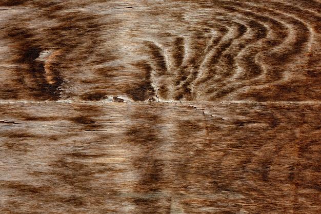 Holzmaserung mit abgenutzter oberfläche