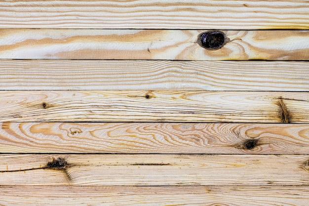 Holzoberfläche von den horizontal angeordneten lichtleisten