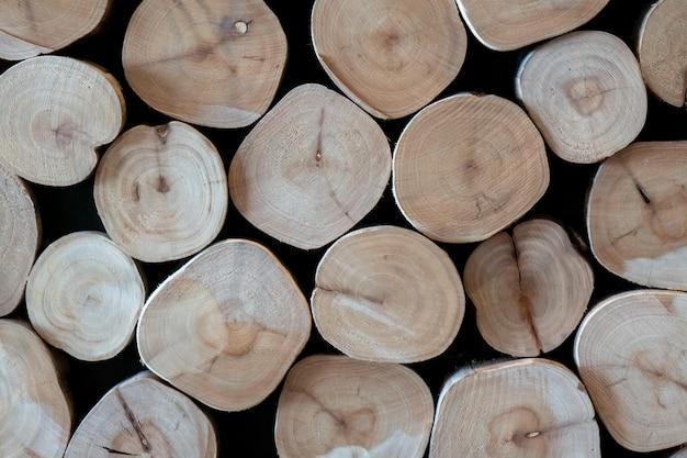 Holzscheit hintergrundmuster