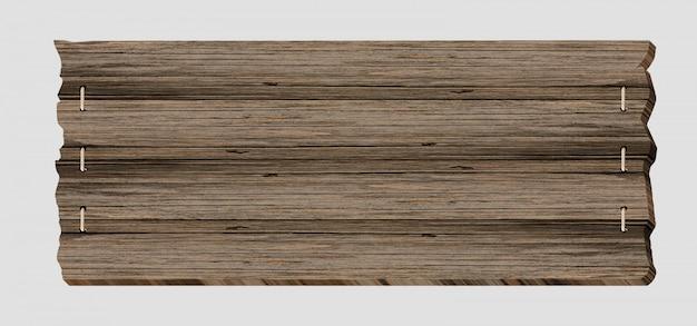 Holzschild bord