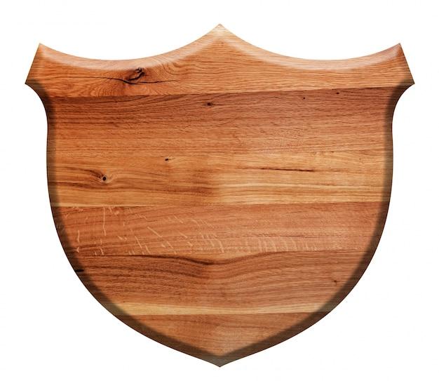 Holzschild mit geformten schild