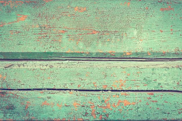 Holzstruktur, hintergrund, bunt, risse in der farbe, vintage, wand, abstraktes muster grunge-baubrett