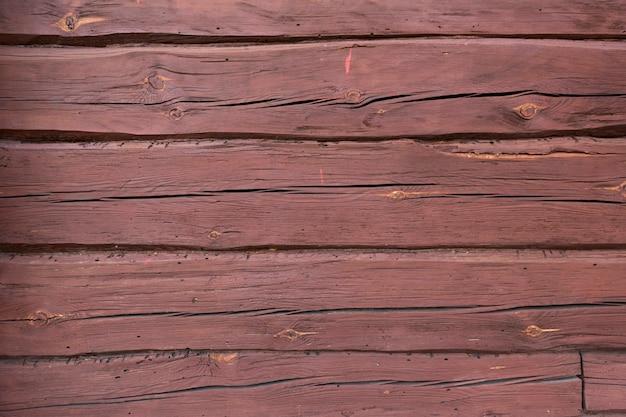 Holzstrukturhintergrund, holzplanken in rotbrauner terrakottafarbe hochwertiges foto