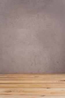 Holztischbrett hintergrund als texturoberfläche, vorderansicht