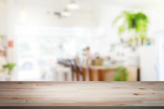 Holztischplatte mit hintergrund