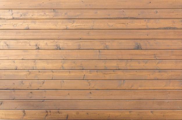 Holzuntergrund. saubere, gleichmäßige dielen mit der textur und textur von gelbem holz für die fassadendekoration