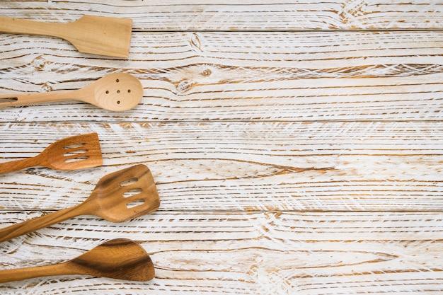 Holzutensilien