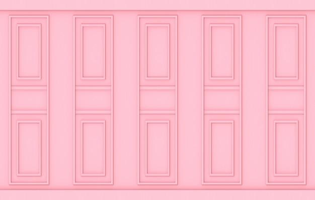 Holzwandhintergrund des süßen weichen rosa klassischen luxusholzes