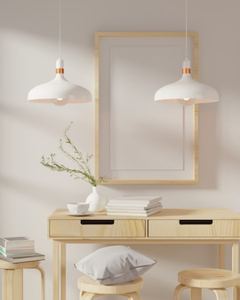 Home interieur poster