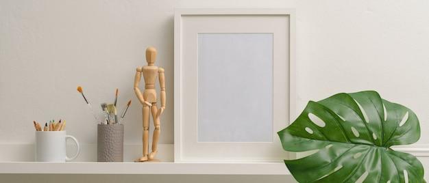Home interior design mit einem rahmen