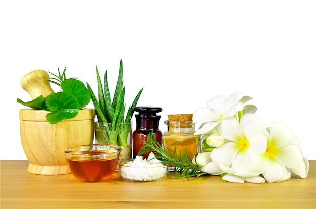 Homöopathie, spa und natürliche pflege rezept.