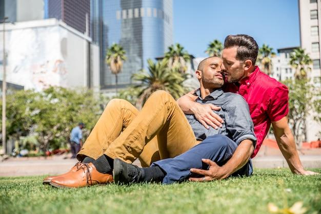 Homosexuelles paar aus