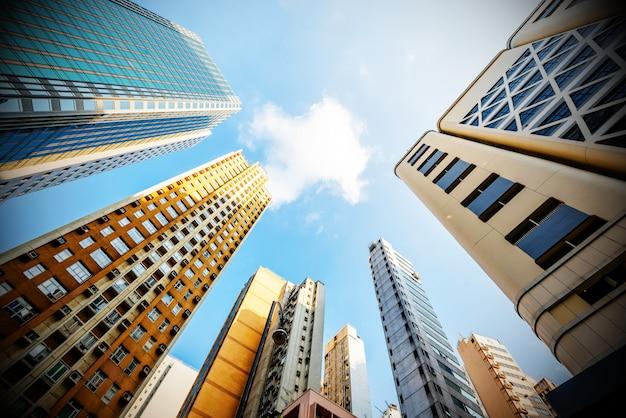 Hongkongs wolkenkratzer