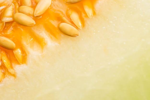 Honigmelone mit samen