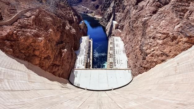 Hoover dam in nevada, usa