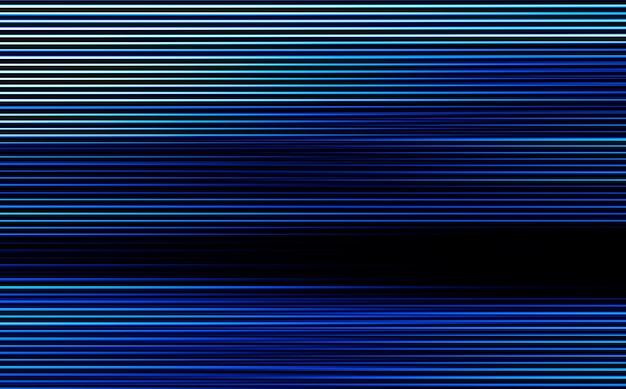 Horizontale blaue scanline-linien-illustrationshintergrund