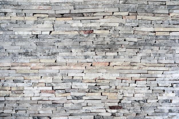 Horizontale gestapelte granitsteinbacksteinmauer