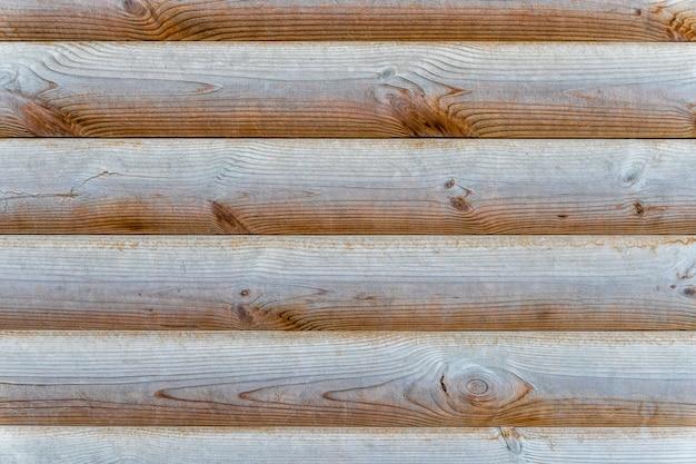 Horizontale kiefernholzplanken textur Premium Fotos