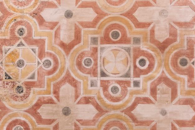 Horizontaler hintergrund der geometrischen formen