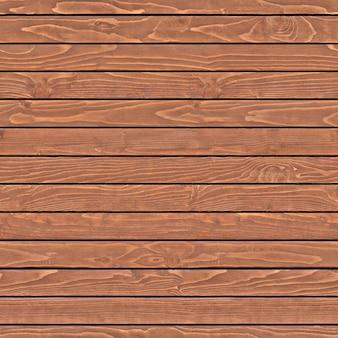 Horizontales braunes brett für den zaun mit natürlichen flecken auf der oberfläche. hintergrund oder textur