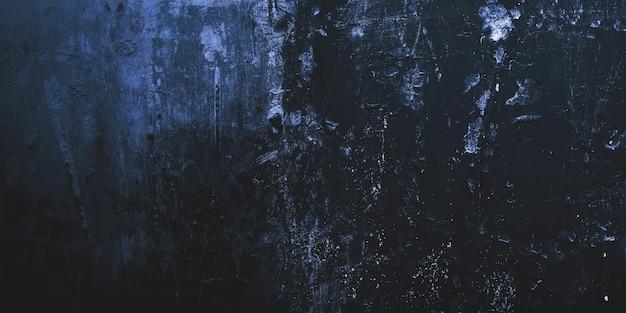 Horror und unheimlicher zement. wände sind voller flecken und kratzer.