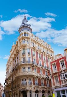 Hotel cartagena gran art noveau in murcia, spanien