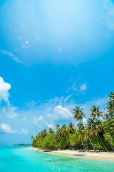 Hotel male malediven im freien blau