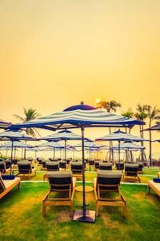 Hotel schöne silhouette baum bäume