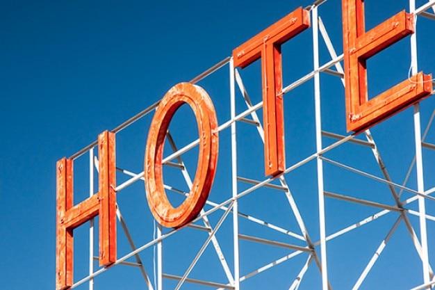 Hotel typografie