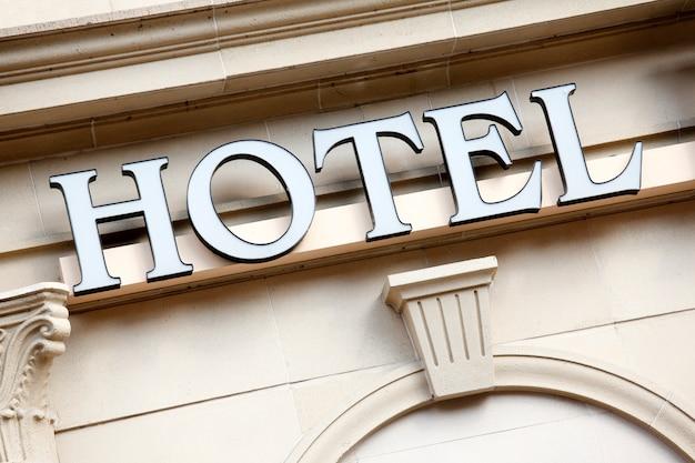 Hoteleingang zeichen
