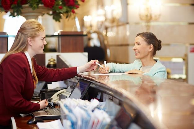 Hotelregistrierung