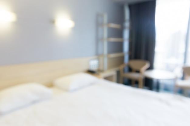 Hotelzimmer verschwommen