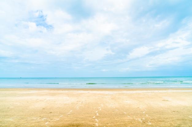 Hua hin strand in thailand