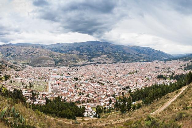 Huaraz luftbild